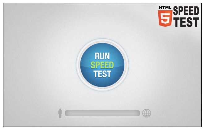 html5 speed test